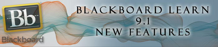 Blackboard New Features